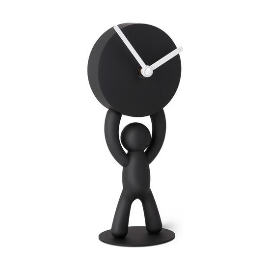 Часы Buddy настольные, черные