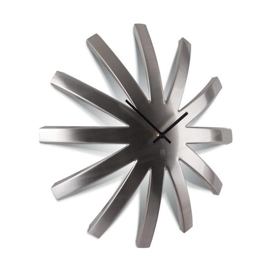 Часы настенные Burst, никель