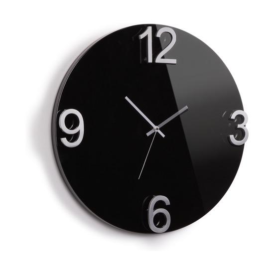 Часы настенные Elapse, черные