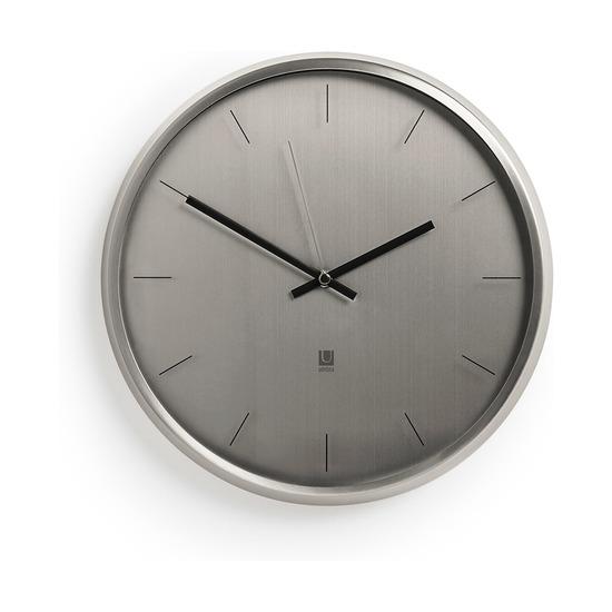 Часы настенные Meta, никель