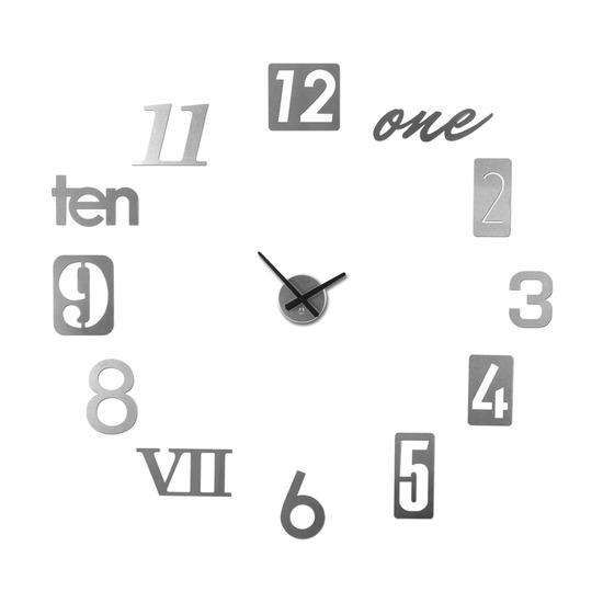 Часы настенные Numbra, алюминиевые