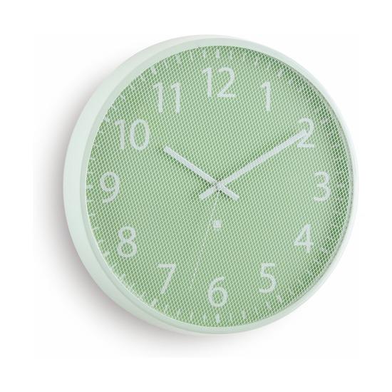 Часы настенные Perftime, мятные