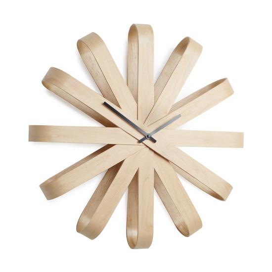 Часы настенные Ribbon, дерево