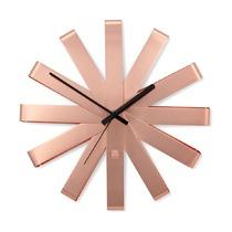 Часы настенные Ribbon, медь