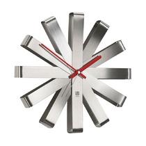 Часы настенные Ribbon, сталь
