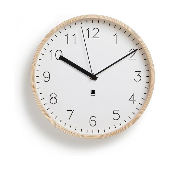 Часы настенные Rimwood, белые
