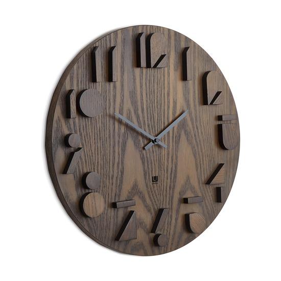 Часы настенные Shadow, орех