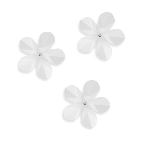 Декор для стен Aerial flower 12 элементов, прозрачный
