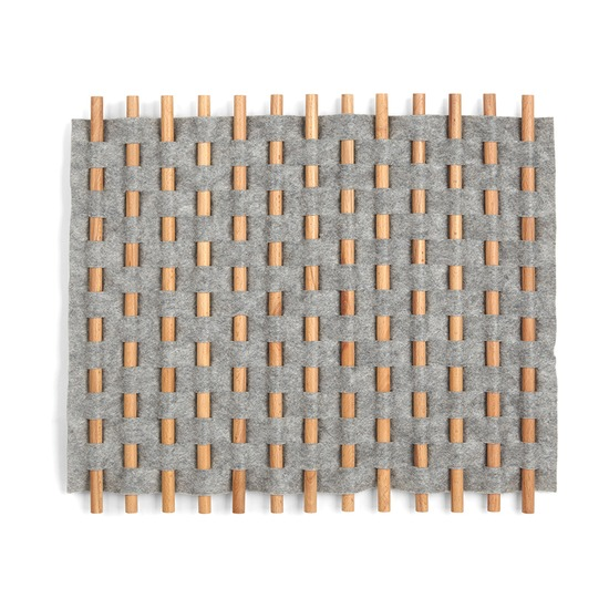 Декор для стен Looma  21x20, серый