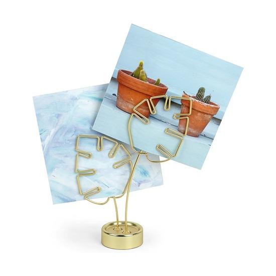 Дисплей для фото Leaflet, латунь