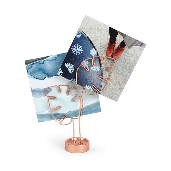 Дисплей для фото Leaflet, медь
