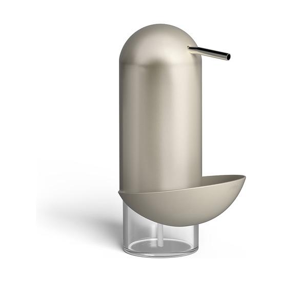 Диспенсер для мыла с подставкой для губки Penguin, никель