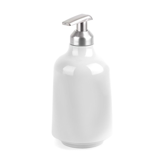 Диспенсер для жидкого мыла Step, белый