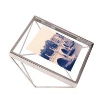 Фоторамка Prisma 10х10, хром