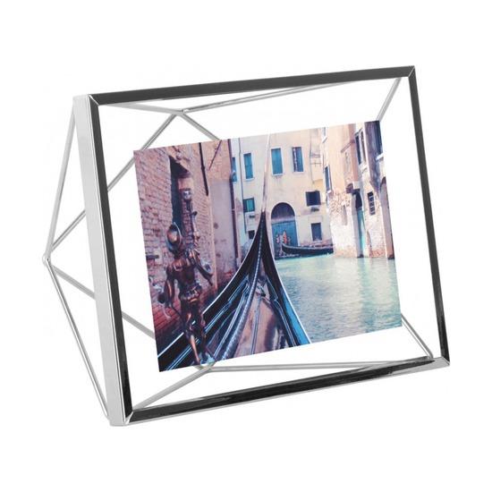 Фоторамка Prisma 10х15, хром