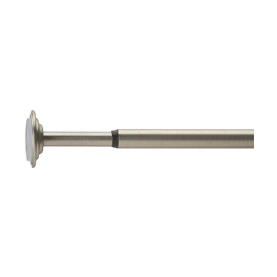 Карниз Coretto (91-137 см), никель