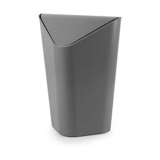 Корзина для мусора Corner, тёмно-серая