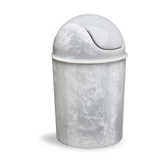 Корзина для мусора Mini с крышкой, оникс