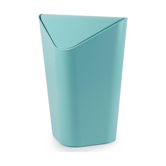 Корзина для мусора Corner угловая, голубая