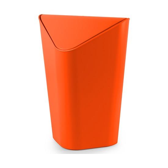 Корзина для мусора Corner угловая, оранжевая