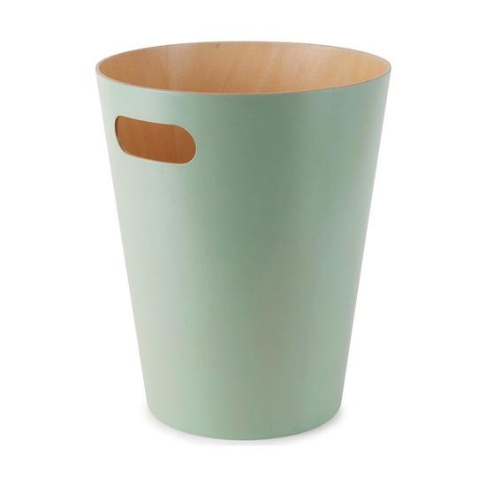 Корзина для мусора Woodrow, бирюзовая