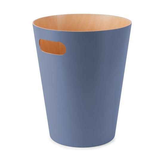 Корзина для мусора Woodrow, дымчато-синяя