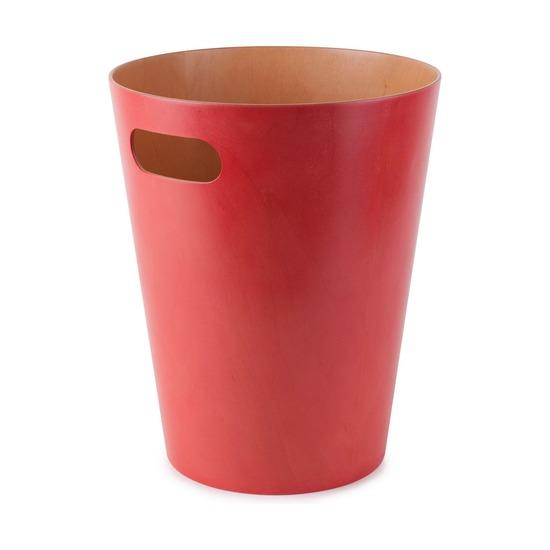 Корзина для мусора Woodrow, красная