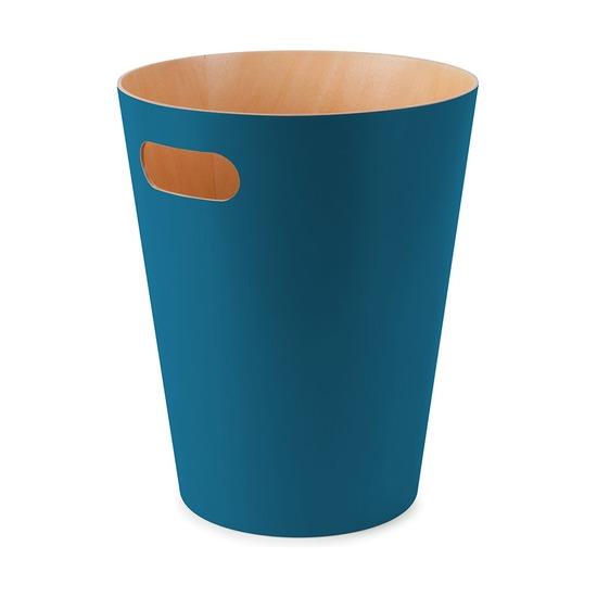 Корзина для мусора Woodrow, сине-зелёная