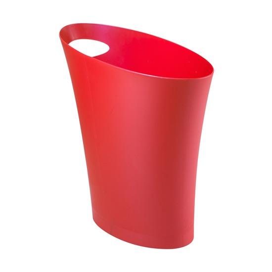 Контейнер мусорный Skinny, красный