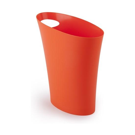 Контейнер мусорный Skinny, оранжевый