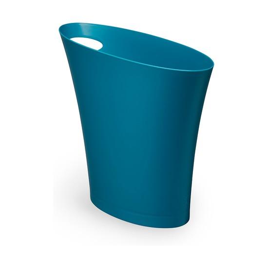 Контейнер мусорный Skinny, сине-зелёный