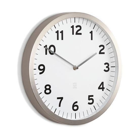 Настенные часы Anytime, белые