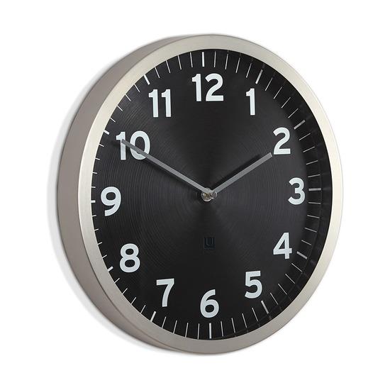 Настенные часы Anytime, чёрные