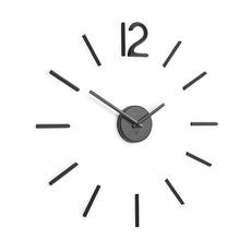 Настенные часы Blink, чёрные