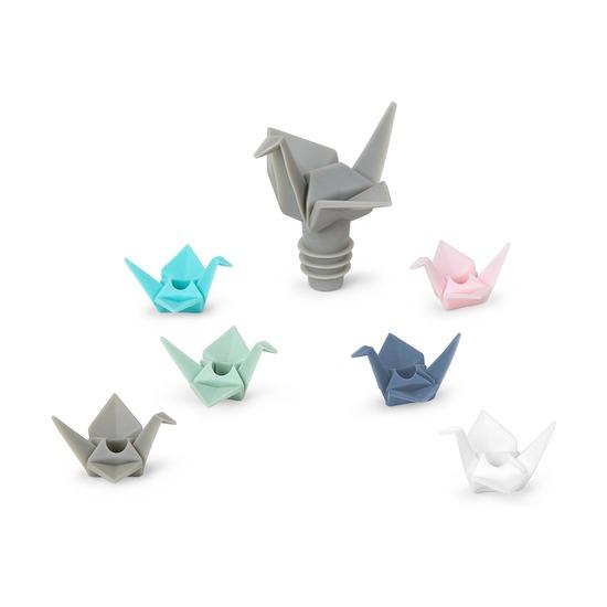 Пробка для бутылки и маркеров для бокалов Origami
