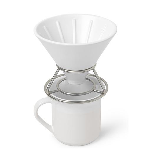 Набор Perk для заваривания кофе методом пуровер, белый