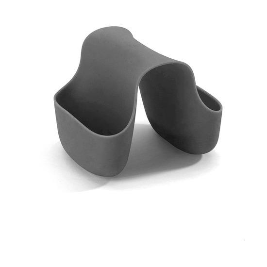 Органайзер для раковины Saddle, тёмно-серый