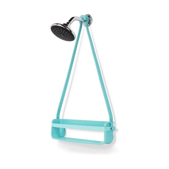 Органайзер для душа Flex single, ярко-голубой