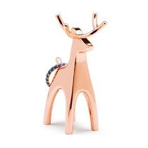 Подставка для колец Anigram, олень, медь