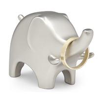 Подставка для колец Anigram, слон, никель