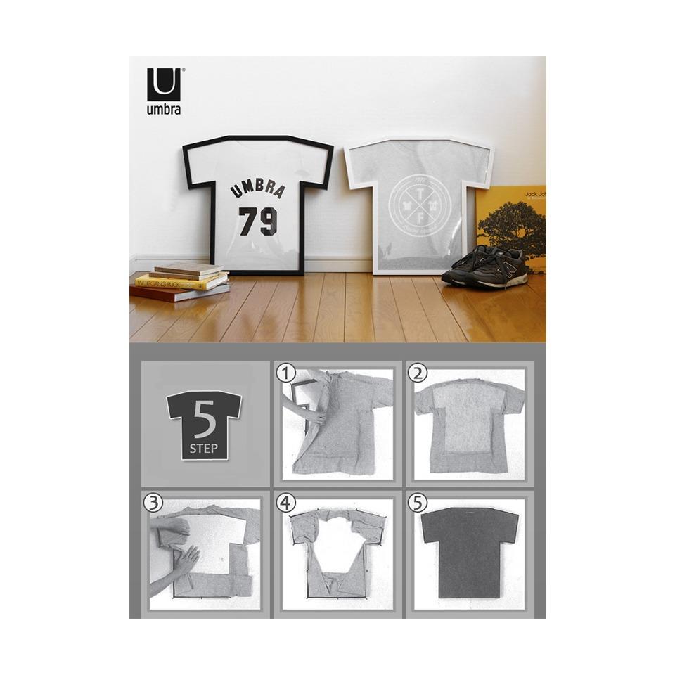 Рамка для футболки T-frame, черная 315200-040 от Umbra за 2 800 руб ...