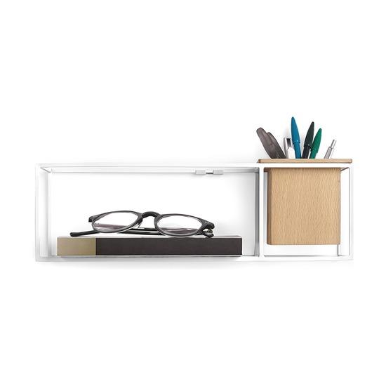 Полка-органайзер маленькая Cubist, белый