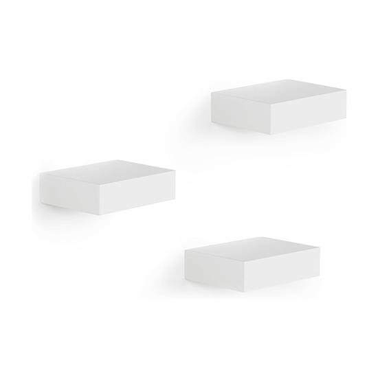 Полки настенные Showcase, 3 шт., белые