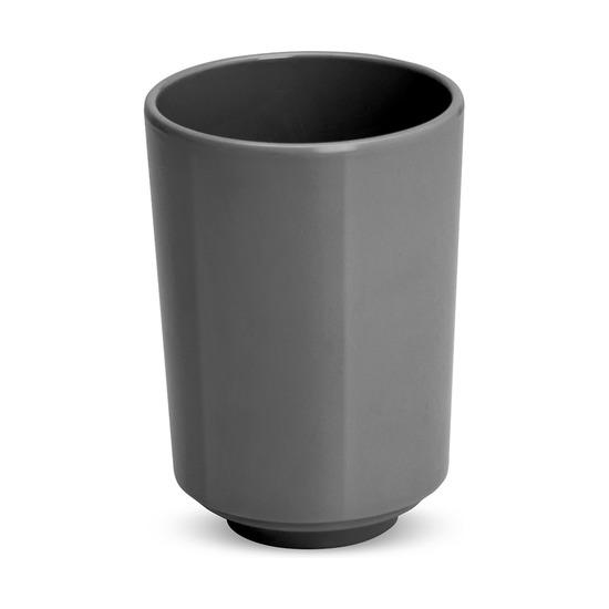 Стакан для ванной Step, тёмно-серый