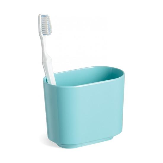 Стакан для зубных щеток Step, морская волна