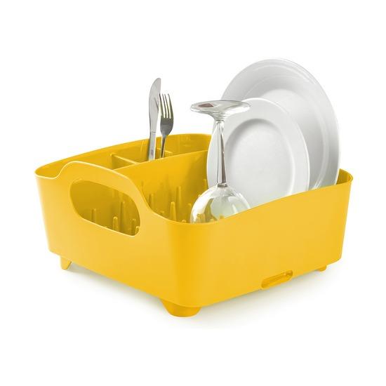 Сушилка для посуды Tub, канареечно-жёлтая