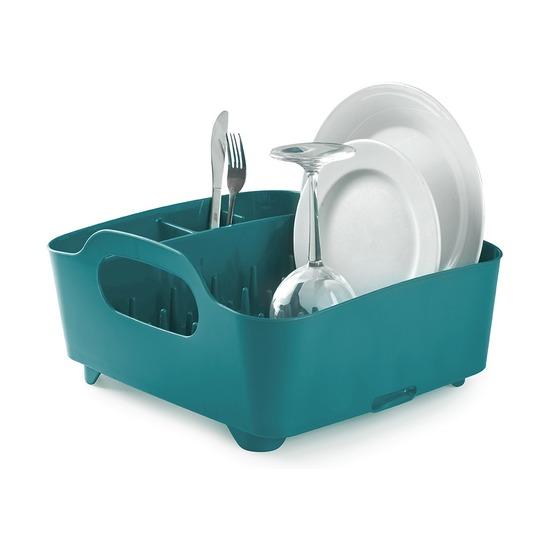 Сушилка для посуды Tub, сине-зелёная