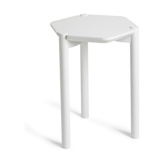 Столик журнальный Hexa, белый