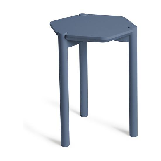 Столик журнальный Hexa, дымчато-синий
