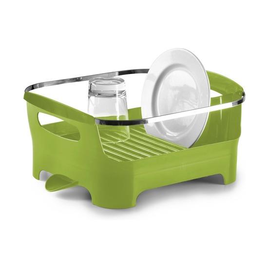 Сушилка для посуды Basin, зеленая